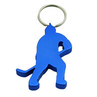 Munkees Ice Hockey Player Keychanin Bottle Opener