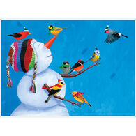 Allport Editions Birdies & Snowman Boxed Holiday Cards