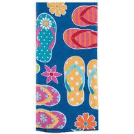 Kay Dee Designs Summer Fun Flip Flops Terry Towel