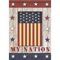 Carson Home Accents Flagtrends My Nation Garden Flag