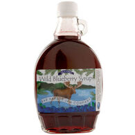 Bar Harbor Jam Company Blueberry Syrup with Moose Label, 12 oz.