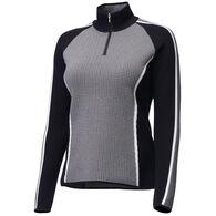 Descente Women's Eden Half-Zip Long-Sleeve Sweater
