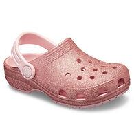 Crocs Girl's Classic Glitter Clog
