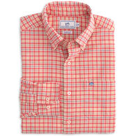Southern Tide Men's Course Plaid Oxford Sport Button-Down Long-Sleeve Shirt