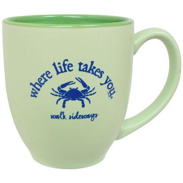 Where Life Takes You Crab Mug