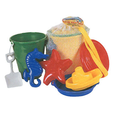 Sola Beach Toys Mesh Backpack Sand & Playset