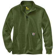 Carhartt Men's Big & Tall Force Relaxed Fit Midweight 1/4-Zip Pocket Sweatshirt