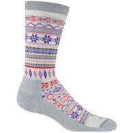 Farm To Feet Women's Hamilton Lightweight Fair Isle Crew Sock