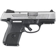 "Ruger SR9c 9mm Matte Stainless 3.4"" 17-Round Compact Pistol"