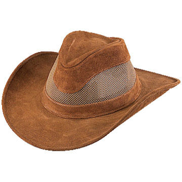 Henschel Mens Leather Crushable Breezer Hat