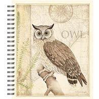Lang Sanctuary Owl Spiral Sketchbook