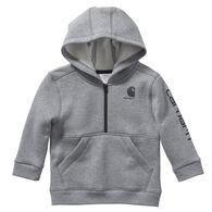 Carhartt Toddler Boy's Half-Zip Hooded Sweatshirt