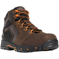 "Danner Men's Vicious 4.5"" Non-Metallic Safety Toe Waterproof Work Boot"