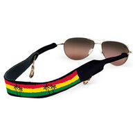 Croakies Rasta Beach Palms Eyewear Retainer