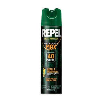 Repel Sportsmen Max Formula  Insect Repellent Aerosol Spray - 6.5 oz.