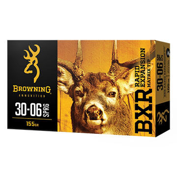 Browning BXR Rapid Expansion 300 Win Mag 155 Grain Matrix Tip Rifle Ammo (20)