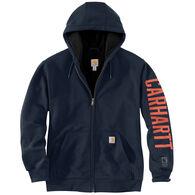 Carhartt Men's Rain Defender Original Fit Graphic Fleece-Lined Sweatshirt