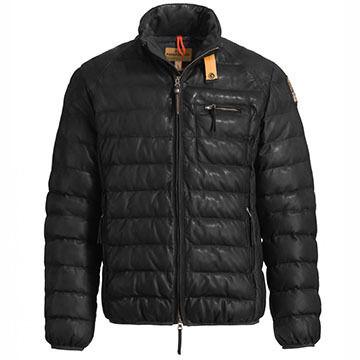 Parajumpers Mens Ernie Leather Jacket