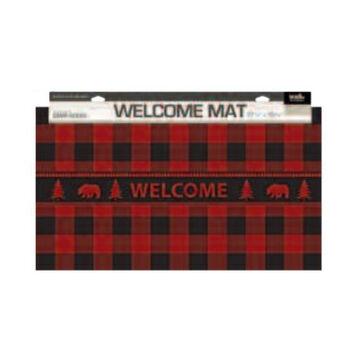 Wilcor Buffalo Plaid Floor Mat
