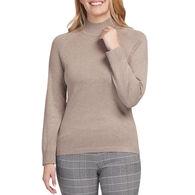 Tribal Women's Mock Neck Long-Sleeve Sweater