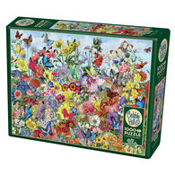 Outset Media Jigsaw Puzzle - Butterfly Garden