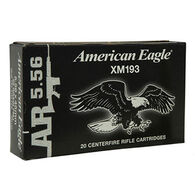 American Eagle 5.56x45mm 55 Grain FMJ BT Rifle Ammo (20)