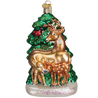 Old World Christmas Deer Family Ornament