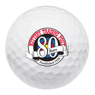 Srixon Soft Feel KTP 80th Logo Golf Ball