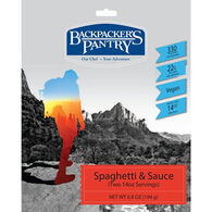 Backpacker's Pantry Vegan Spaghetti & Sauce - 2 Servings