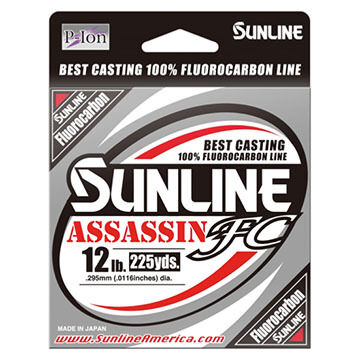 Sunline Assassin FC Fishing Line - 225 Yards