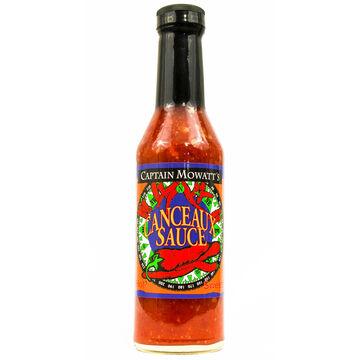 Captain Mowatts Canceaux Hot Sauce, 8 oz.