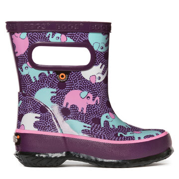 Bogs Boys & Girls Skipper Elephant Rain Boot