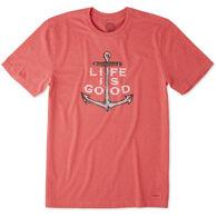 Life is Good Men's Nautical Anchor Crusher Short-Sleeve T-Shirt