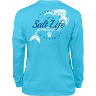 Salt Life Girl's Mermaid Paradise Long-Sleeve T-Shirt