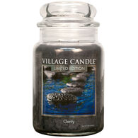 Village Candle Large Glass Jar Candle - Clarity