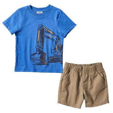Carhartt Infant Boys Construction Wrap Short-Sleeve T-Shirt, 2-Piece