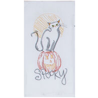 Kay Dee Designs Spooky Embroidered Flour Sack Towel