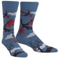 Sock It To Me Men's Twilight Flight Crew Sock
