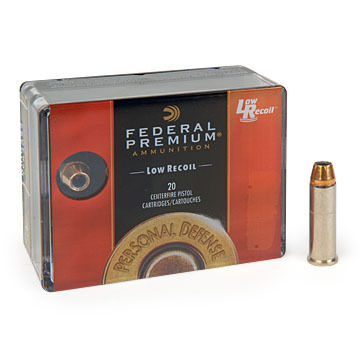 Federal Premium Personal Defense (LR) 327 Federal Magnum 85 Grain Hydra-Shok JHP Handgun Ammo (20)