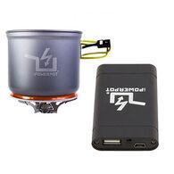Power Practical PowerPot V Portable Generator / Cooking Pot & Battery Bundle