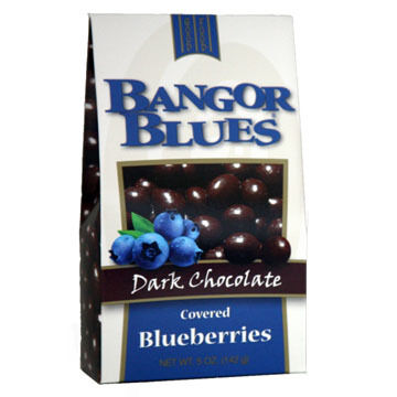 Cape Cod Specialty Foods Bangor Blues Dark Chocolate Covered Blueberries, 5 oz.