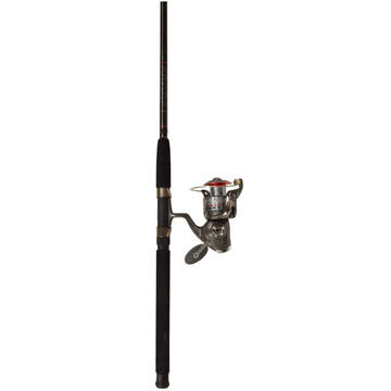 Quantum Optix Saltwater Spinning Combo