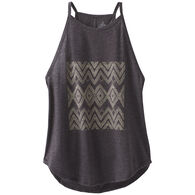 prAna Women's Graphic You High Neck Tank Top