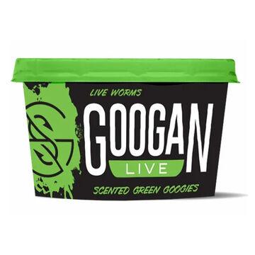 Googan Green Googies Scented Live Redworms Bait
