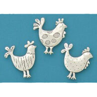 Basic Spirit Roosters Magnet Set