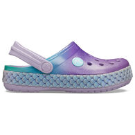 Crocs Girls' Crocband Mermaid Metallic Clog