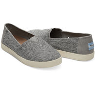 TOMS Women's Forged Iron Grey Space Dye Avalon Slip-On Shoe