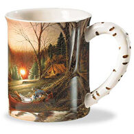 Wild Wings Morning Solitude Sculpted Mug