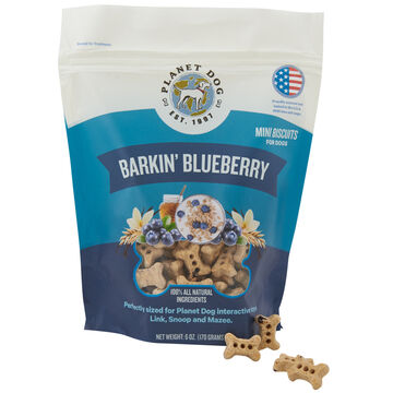 Planet Dog Orbee Barkin Blueberry Dog Treat - 6 oz.
