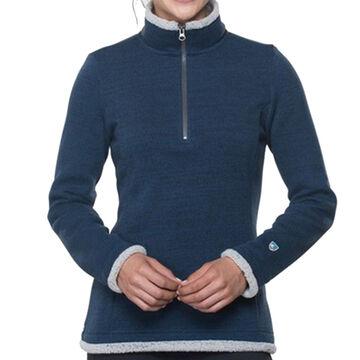 Kuhl Womens Alska 1/4-Zip Fleece Long-Sleeve Shirt